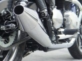 ZTPH041SSO - Silenciadores Escape Zard Inox Triumph Bonneville SE (08-13)