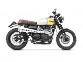 ZTPH048SKA-O - Escape Completo Zard HM Short Inox Triumph Scrambler (05-07)