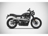 ZTPH084SKR - Escape Completo Zard LE Inox Triumph Street Scrambler (17-19)