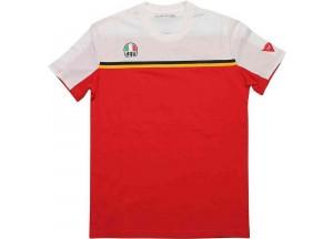 Camiseta AGV FAST-7 Blanco Rojo