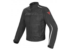 Chaqueta Dainese D-Dry impermeable Hydra Flux Perforado Negro/Blanco