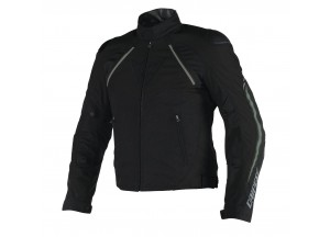 Chaqueta Dainese Hawker D-Dry impermeable Negro/Ebony