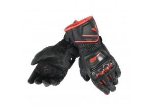 Guantes de Moto Dainese Druid D1 Negro/Negro/Rojo-Fluo
