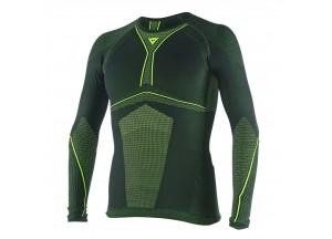 Camiseta térmico Moto Dainese D-Core Tee LS Negro/Fluo-Amarillo