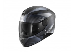 Casco Integral Shark D-SKWAL 2 Mercurium Mat Negro Antracita