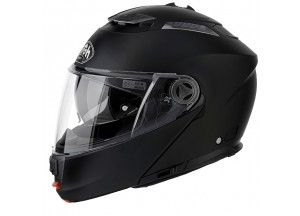 Casco Integral Abierto Airoh Phantom S Color Negro Mate