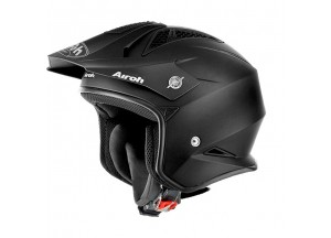 Casco Jet On-Off Airoh Trr S Color Negro Mate