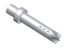 50.DK.024.0 - Mivv SUONO dB-killer 9 holes d35 - d54 - L.210 mm - seger fixing