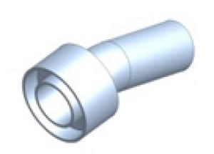 50.DK.069.0 - Mivv dB-killer STRONGER ENDURO d25 - d45- L. 115 mm