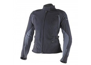 Chaqueta Dainese Stream Line Lady D-Dry impermeable Negro/Ebony