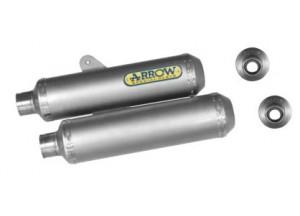 71662PR - SILENCIADORES ESCAPE ARROW TITAN INOX DUCATI MONSTER S4R/S2R 800-1000