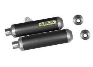 71062MC - SILENCIADORES ESCAPE ARROW CARBONO INOX DUCATI MONSTER S4R/S2R/S4RS