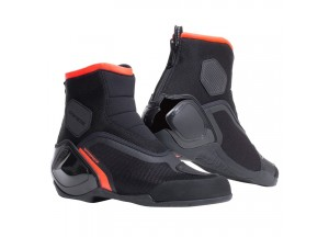 Zapatos Dainese Dinamica D-Wp Negro Rojo Fluo