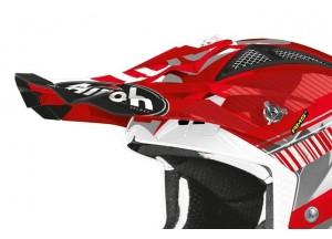 AV23N55F - Airoh Pico Aviator 2.3 Novak Chrome Rojo