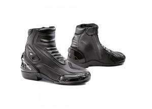 Zapatos Moto Forma Cuero Axel Negro