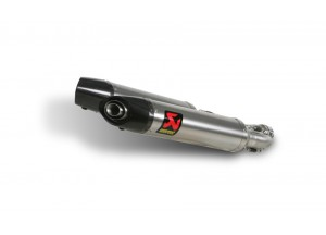 S-A7SO2-HDT - Terminale Escape Akrapovic Slip-on Tit Aprilia Dorsoduro 750 08>