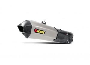 S-D12SO7-HHX2T - Silenciador Akrapovic Aprobado Titanio Ducati Multistrada 1200