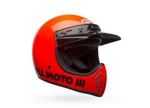 Casco Bell Off-Road Motocross Moto-3 Classic Hi-Viz Naranja