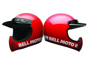 Casco Bell Off-Road Motocross Moto-3 Classic red
