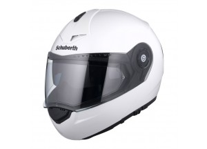 Casco Abatible Schuberth C3 PRO Blanco Brillante