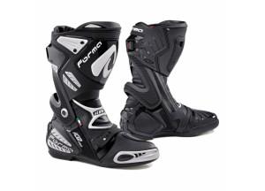 Botas de cuero Racing Forma Ice Pro Flow Negro Blanco