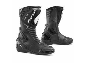 Botas de cuero Racing Forma Freccia  Dry Negro