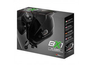 Intercomunicador Unico Nolan N-Com X-Series BX1 Bluetooth Para Cascos X-lite