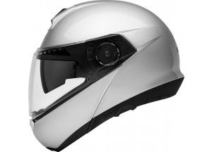 Casco Integral Modular Schuberth C4 Basic Plata Brillante