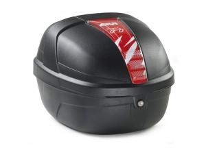 CY25N - Top Case Koffer Givi Fixed Fahrrädern Nero 25lt