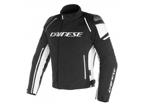 Chaqueta Dainese D-Dry impermeable Racing 3 Negro/Negro/Blanco