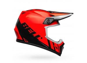Casco Bell Off-Road Motocross Mx-9 Mips Dash Naranja Negro Brillante