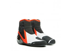 Zapatos Dainese DINAMICA AIR Negro Blanco Rojo-Fluo