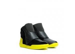 Zapatos Dainese DOVER GORE-TEX Negro Amarillo-Fluo