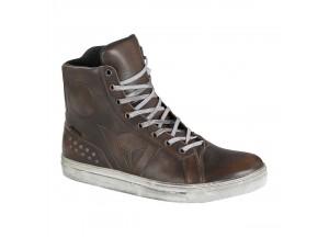 Zapatos de Moto Hombre Dainese STREET ROCKER D-WP® Marrón-Oscuro