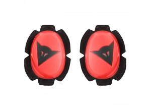 Protección de las Rodillas Dainese PISTA SLIDER Rojo-Fluo/Negro