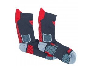 Calcetines Dainese D-CORE MID SOCK Negro/Rojo
