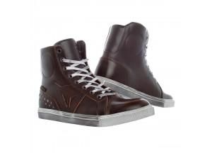Zapatos de Moto Mujer Dainese STREET ROCKER D-WP LADY Marrón-Oscuro