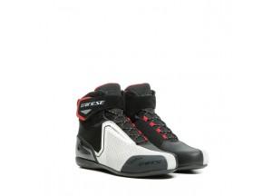 Zapatos Dainese Energyca Air Negro/Blanco/Lava-Rojo