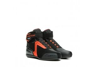 Zapatos Dainese Energyca Air Negro/Fluo-Rojo