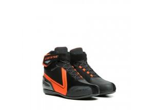Zapatos Dainese Energyca D-WP Negro/Fluo-Rojo
