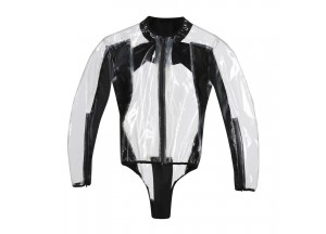 Body Moto Impermeable Dainese Rain Body Racing D1 Negro Transparente