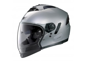 Casco Integral Crossover Grex G4.2 Pro Kinetic 23 Metal Plata