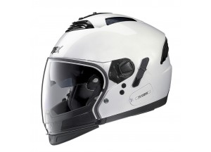 Casco Integral Crossover Grex G4.2 Pro Kinetic 24 Metal Blanco