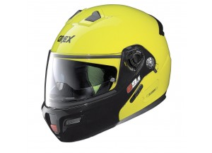 Casco Integral Abierto Grex G9.1 Evolve Couplè 19 Led Amarillo
