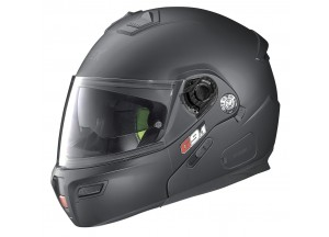 Casco Integral Abierto Grex G9.1 Evolve Kinetic 22 Flat Negro