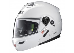 Casco Integral Abierto Grex G9.1 Evolve Kinetic 24 Metal Blanco