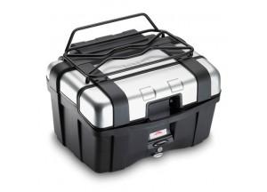 E120B - Givi Portapaquetes metálico (negro) para TRK46 / TRK33