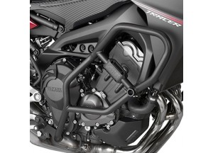 TN2122 - Givi Defensas de motor tubular negro Yamaha MT-09 Tracer (15>17)