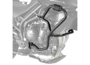 TN6409 - Givi Defensas de motor tubular negro Triumph Tiger 800 (11>16)