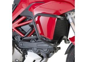 TN7406 - Givi Defensas de motor tubular negro Ducati Multistrada 1200 (15>16)